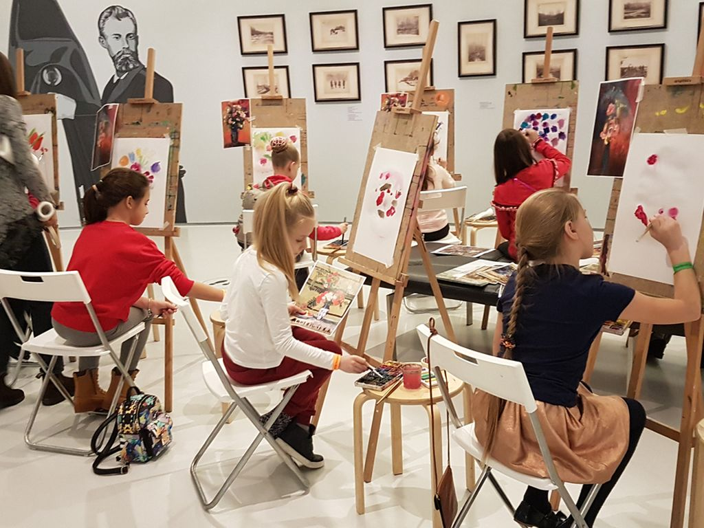 Мастер- классы в Музее русского импрессионизма