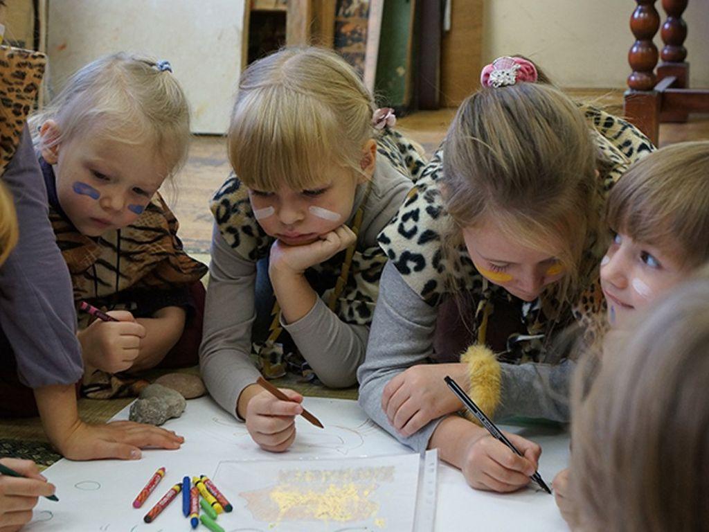 Развлечения для детей в Музее Востока