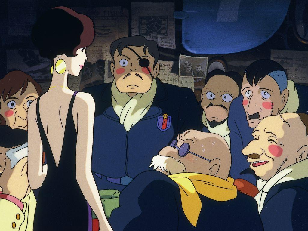 Фрагменты фильма  аниме Хаяо Миядзаки «Порко Россо»