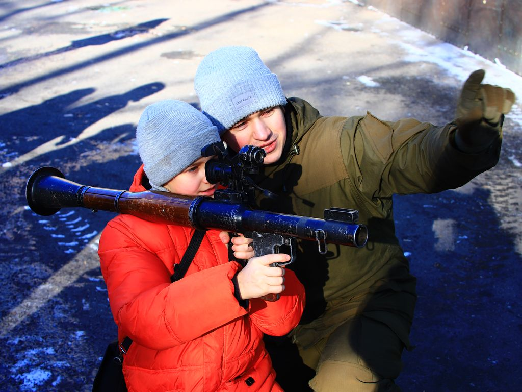 23 февраля в Таганском парке