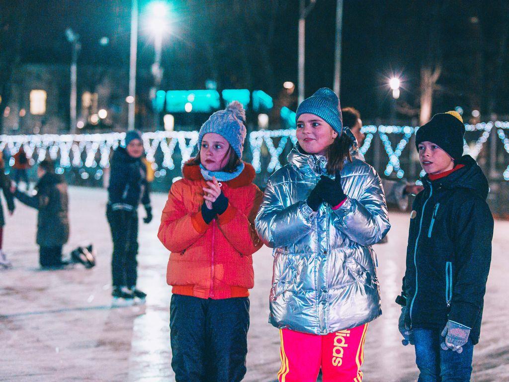 Детская DJ-вечеринка на на катке Таганского парка
