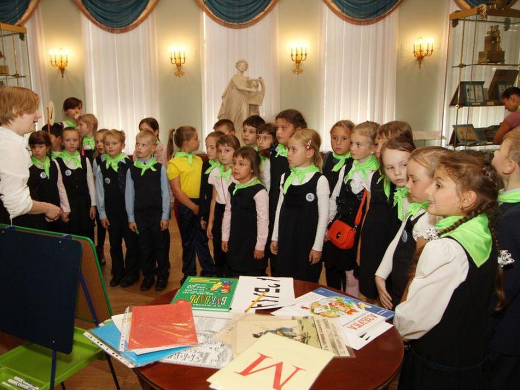 Государственный музей А.С. Пушкина : просветительские занятия с детьми