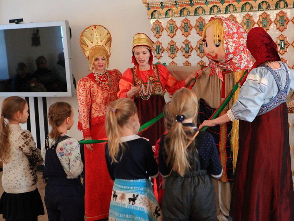 Интерактивные программы, посвященные празднованию Масленицы в музее-заповеднике