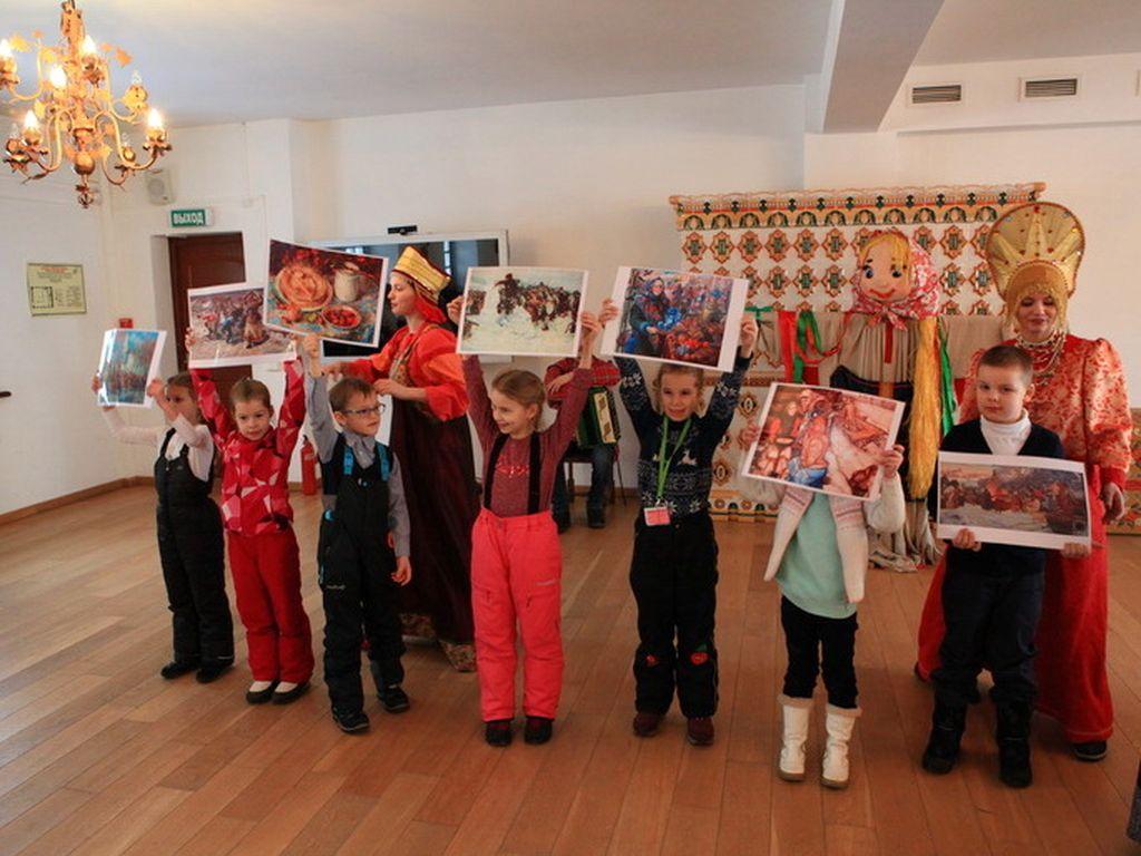 Веселая Масленица в Коломенском
