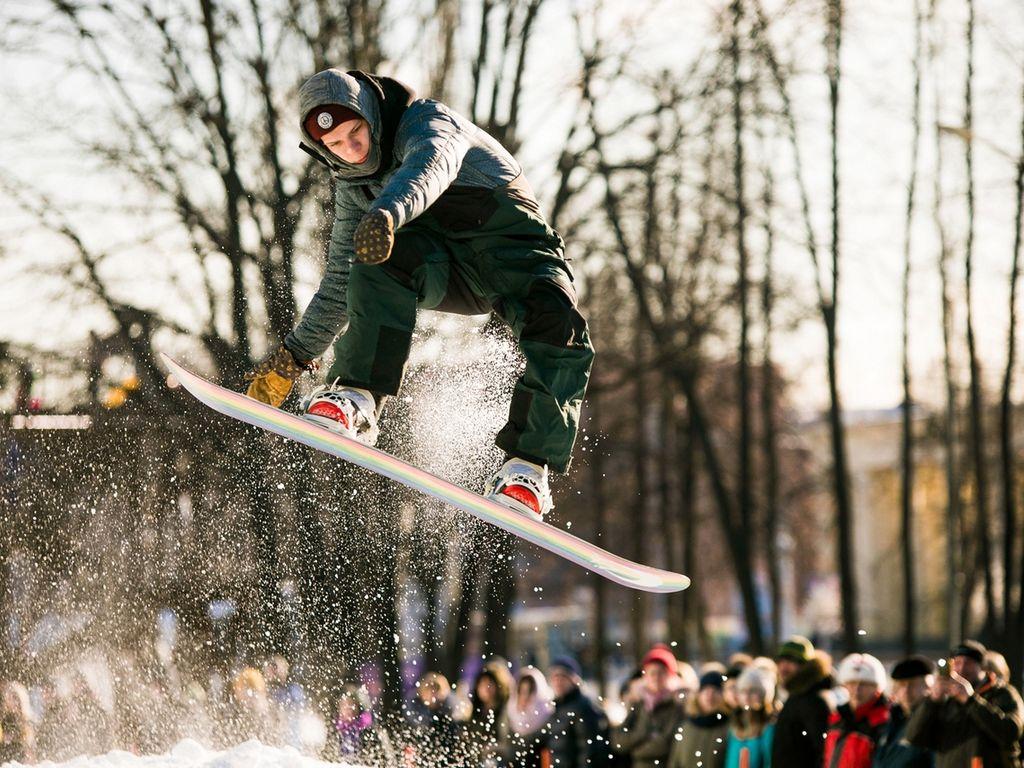 Соревнования по джиббингу на сноуборде