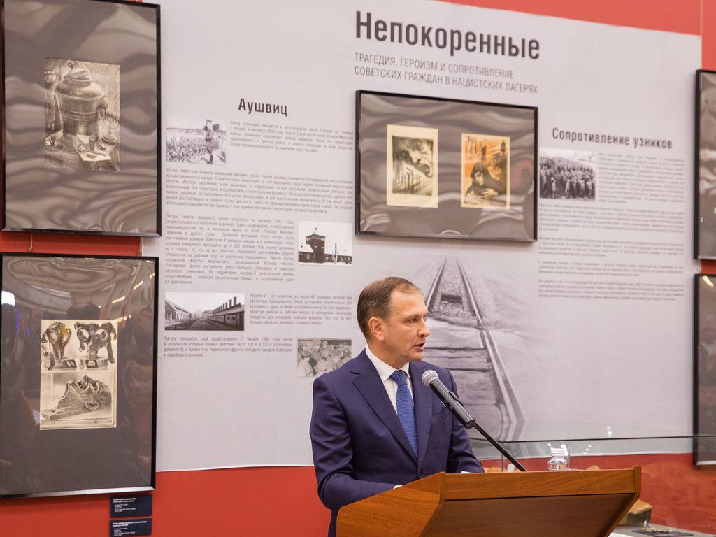 Директор Музея Победы Александр Школьник