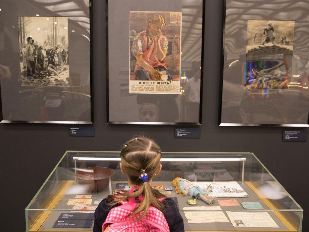 Выставка к Международному дню памяти жертв Холокоста в Музее Победы