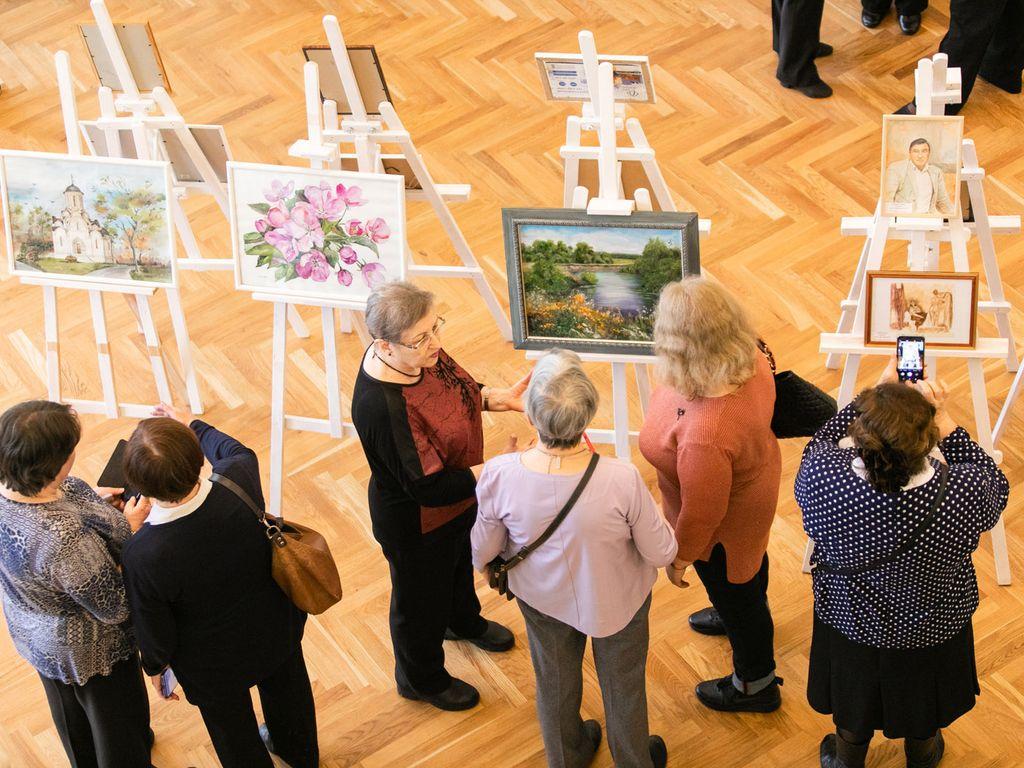 Выставка в рамках проекта Московское долголетие