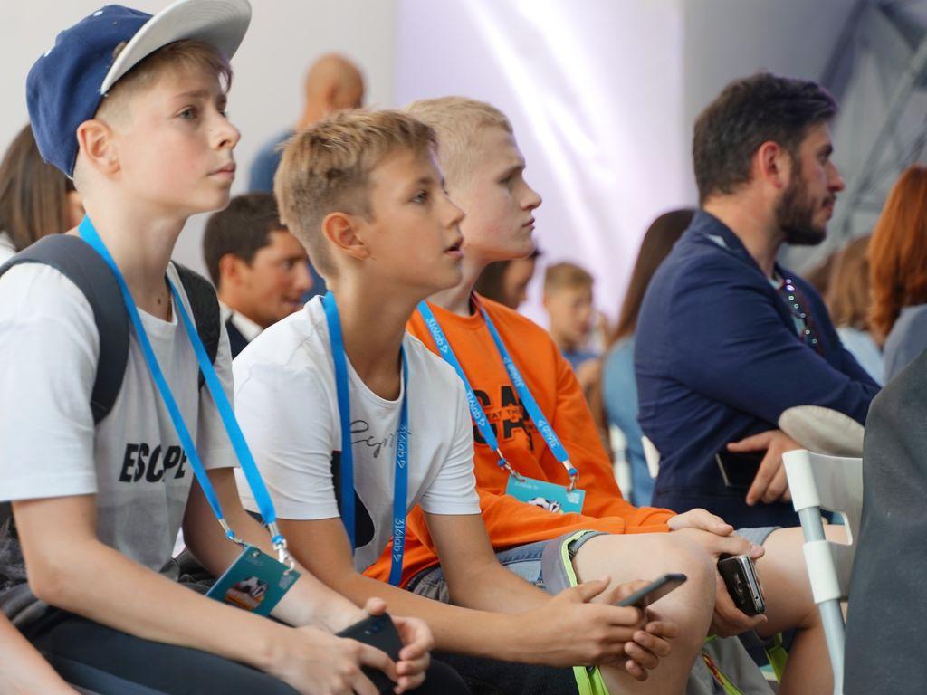 Лекции на фестивале Мир футбола