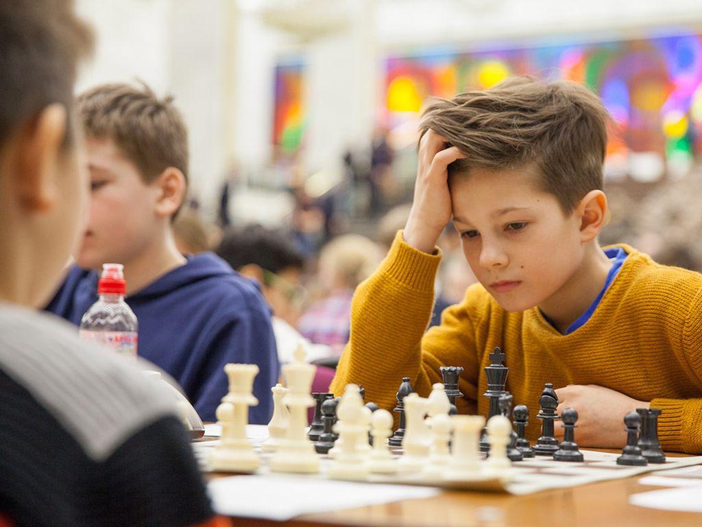 Турнир по шахматам в Музее Победы