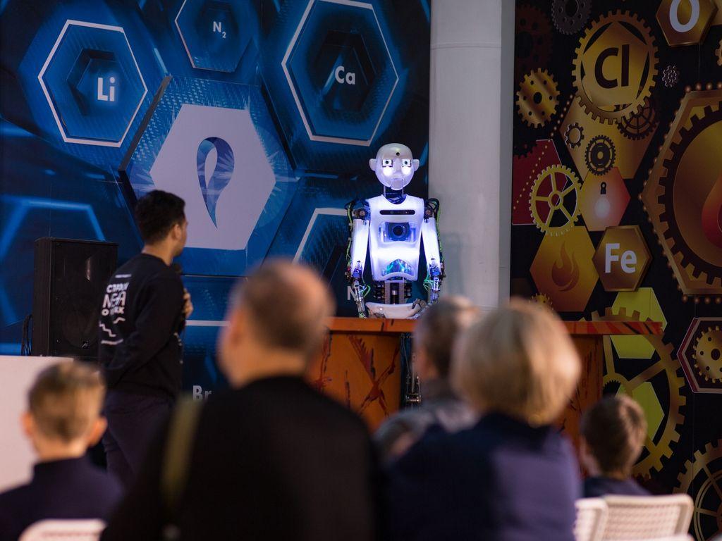 Развлечения на Роботостанции