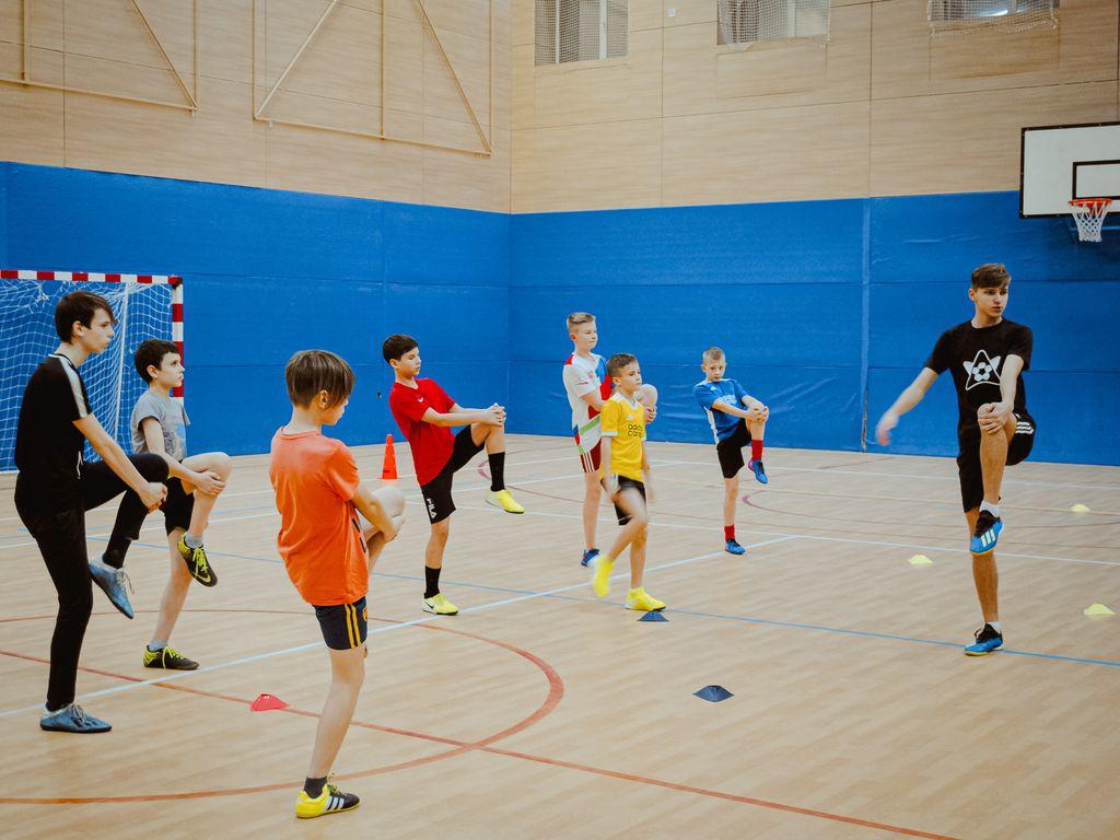 Футбольный онлайн-марафон от секции Adidas Football Kids