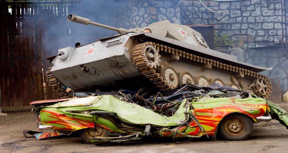 Шоу танков в Москве