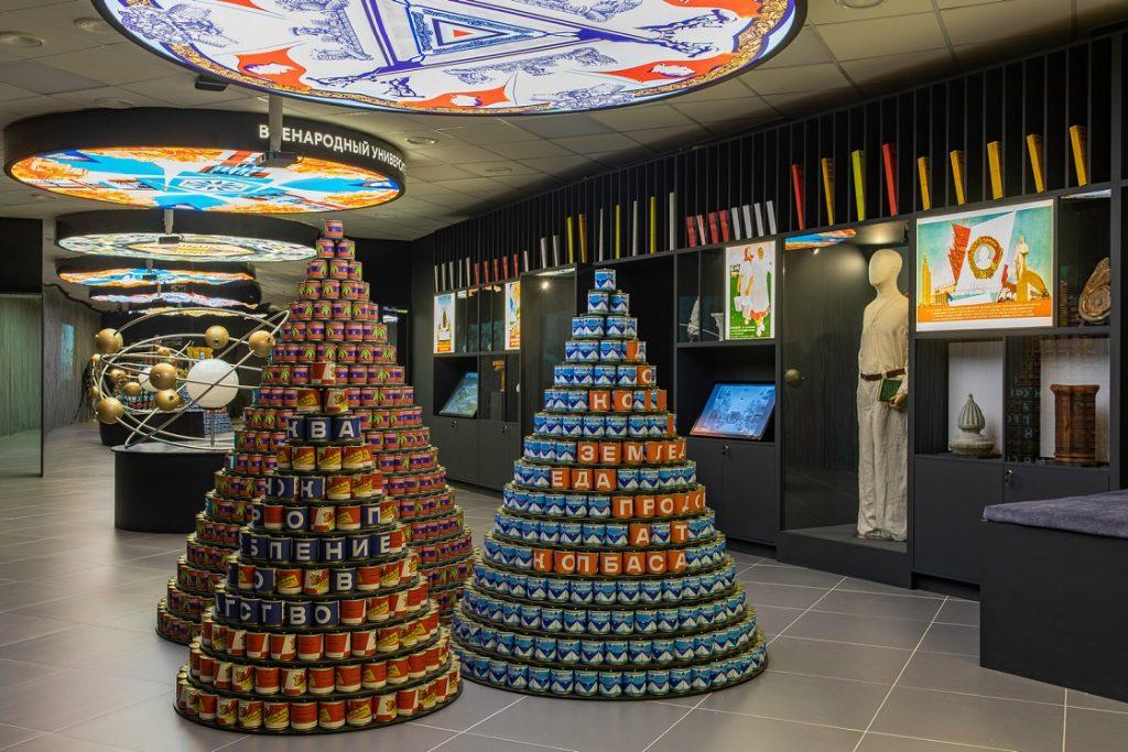 Новые экспонаты в Музее ВДНХ