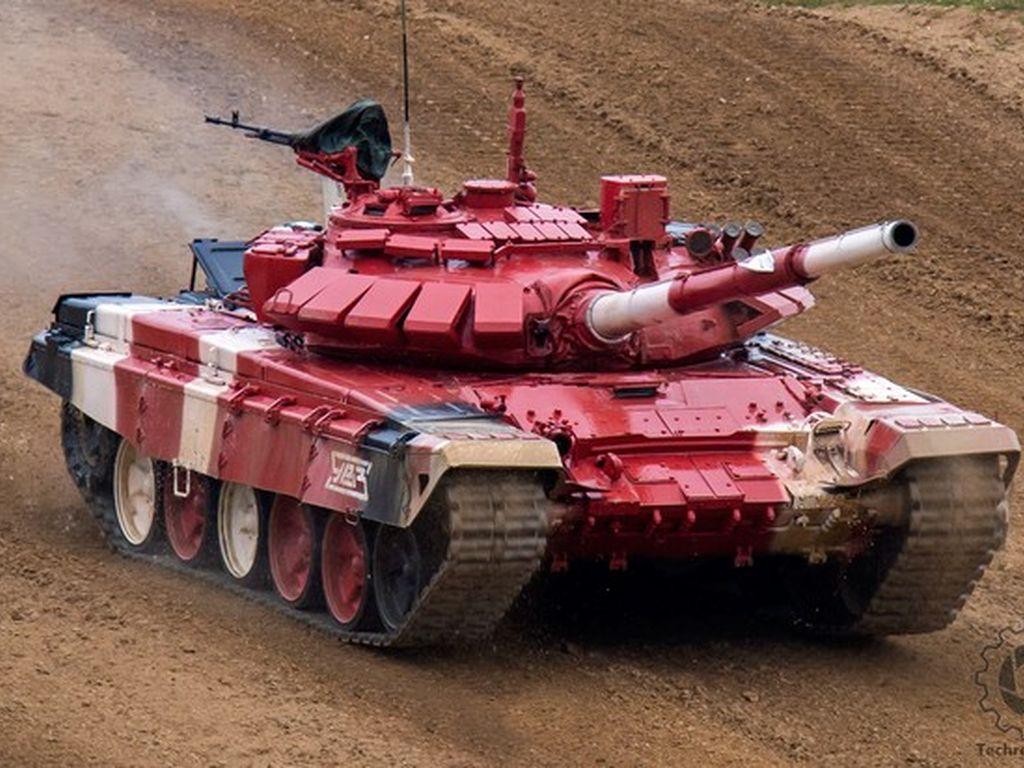 Танковый Биатлон наВоенном полигоне Алабино