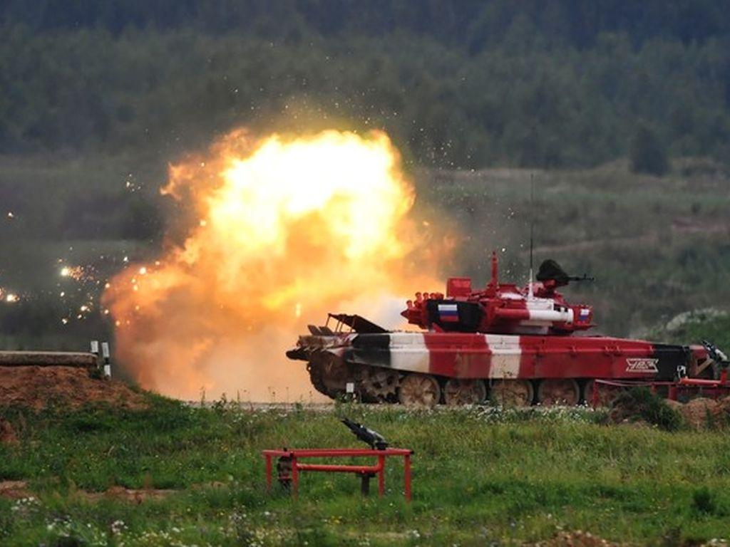 Танковый Биатлон 2020 в Алабино