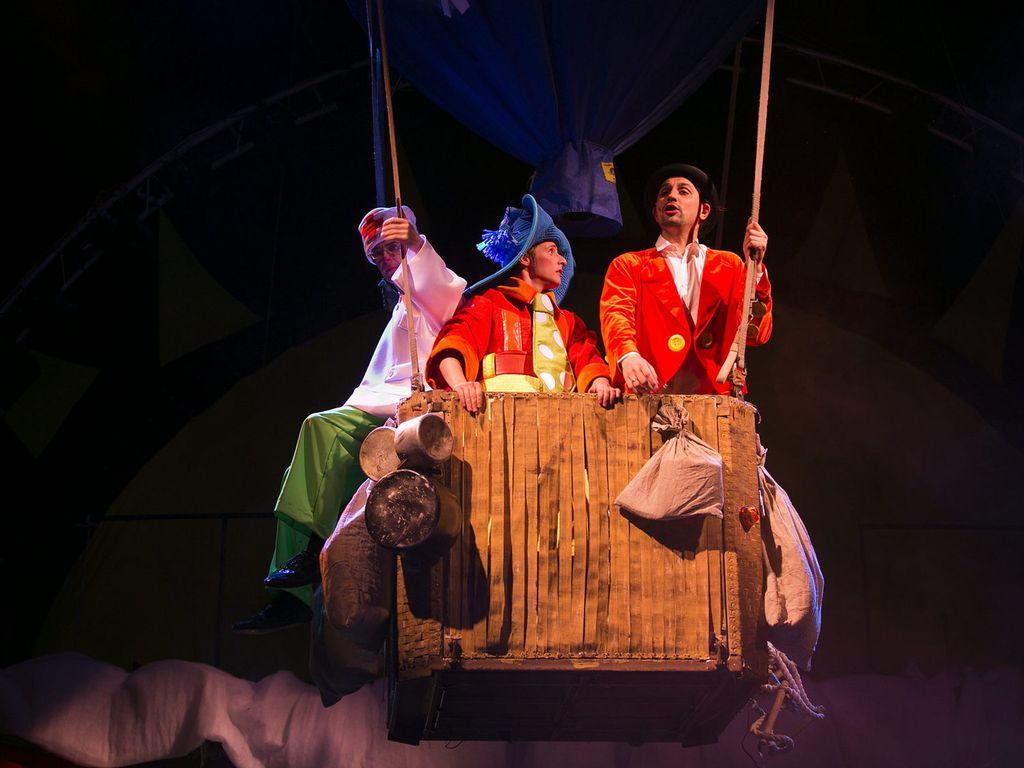 Цирк Чудес: Спектакль