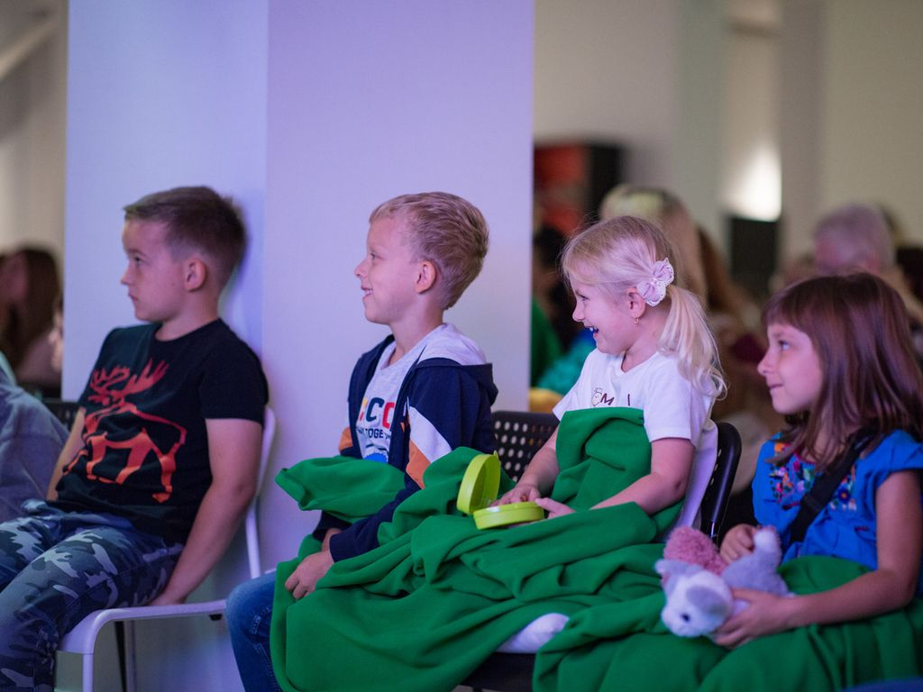 бразование под музыку: на ВДНХ стартовал цикл для детей «Сказки с квартетом»