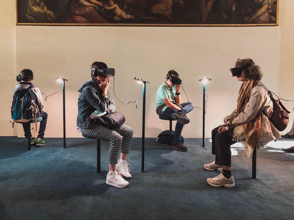VR технологии в шатре «Сделано в Москве»