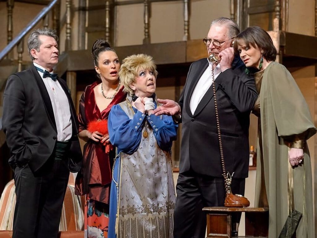 Спектакль в Театре Маяковского