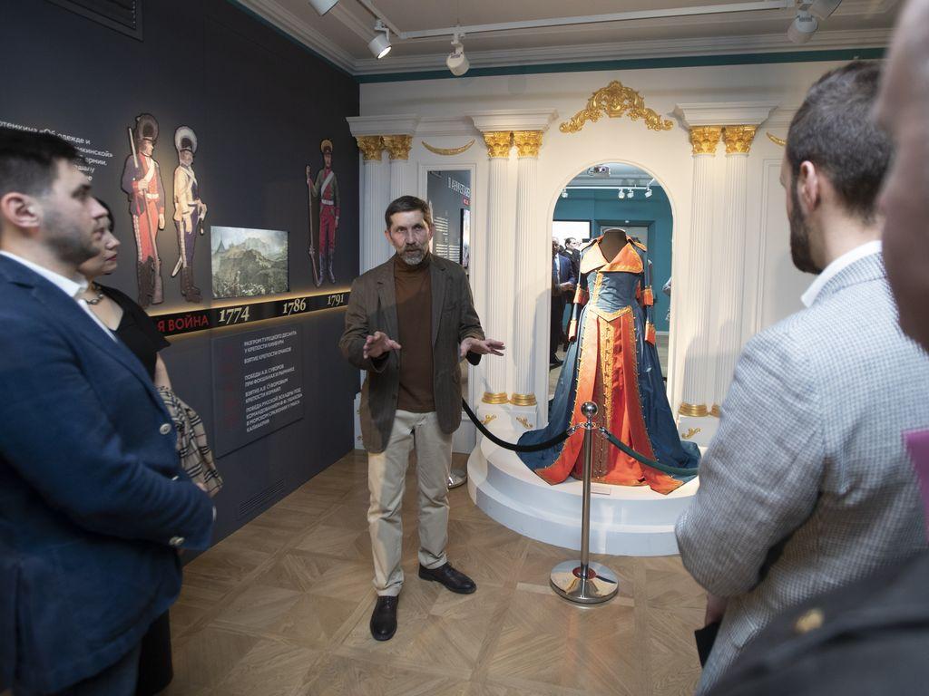 Иммерсивная лекция в Музее военной формы