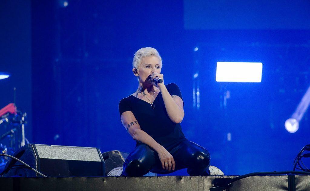 Диана Арбенина и Ночные Снайперы концерт на ВТБ арене в 2021 году