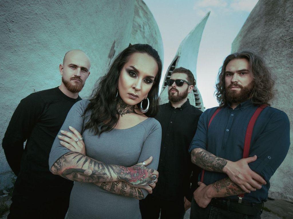 метал-группа JINJER в Москве