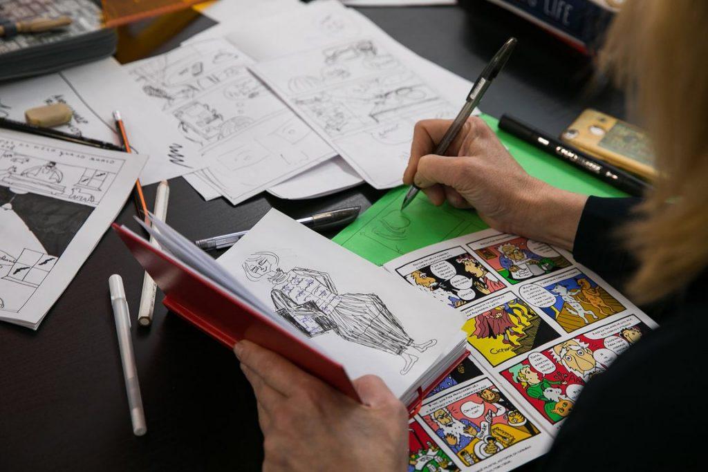 Научиться создавать Комиксы своими руками