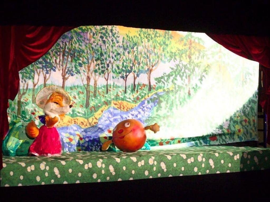 Детский мюзикл по мотивам  народной сказки Колобок