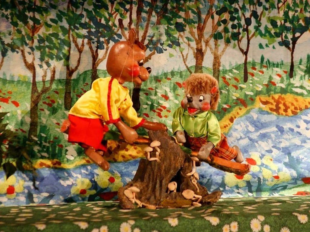 Детский кукольный спектакль