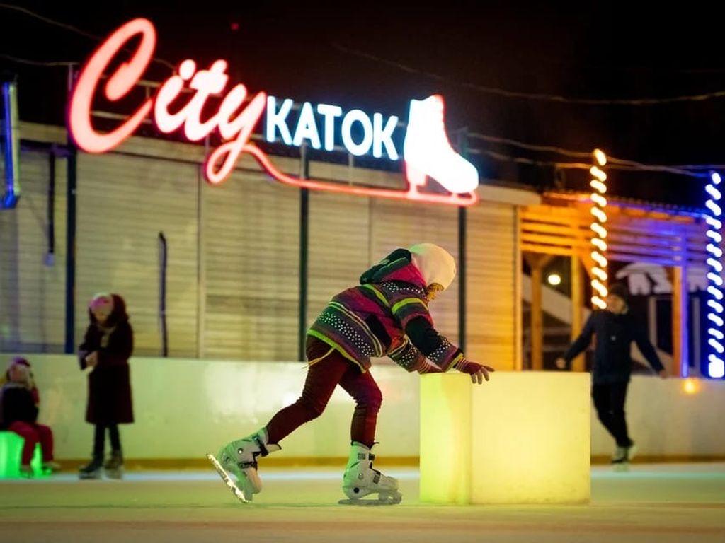 City каток в парке Красная Пресня
