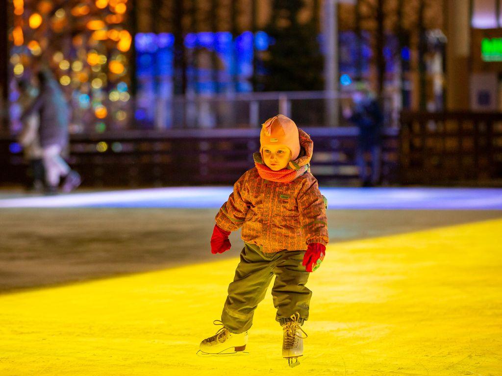 Каток для детей в Москве