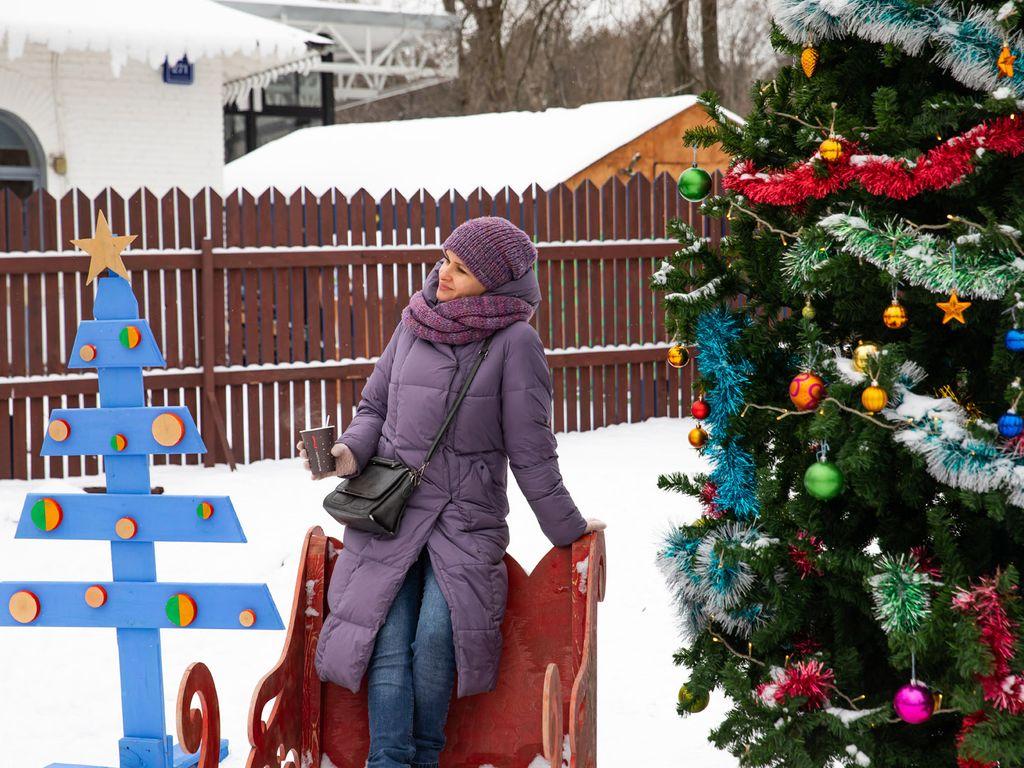 Новогодние елки на ВДНХ