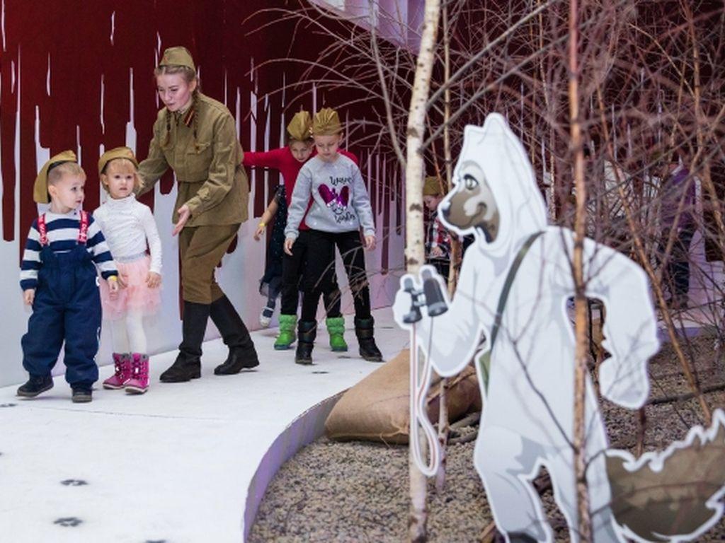 Новогодний квест елка победы  от Музея Победы