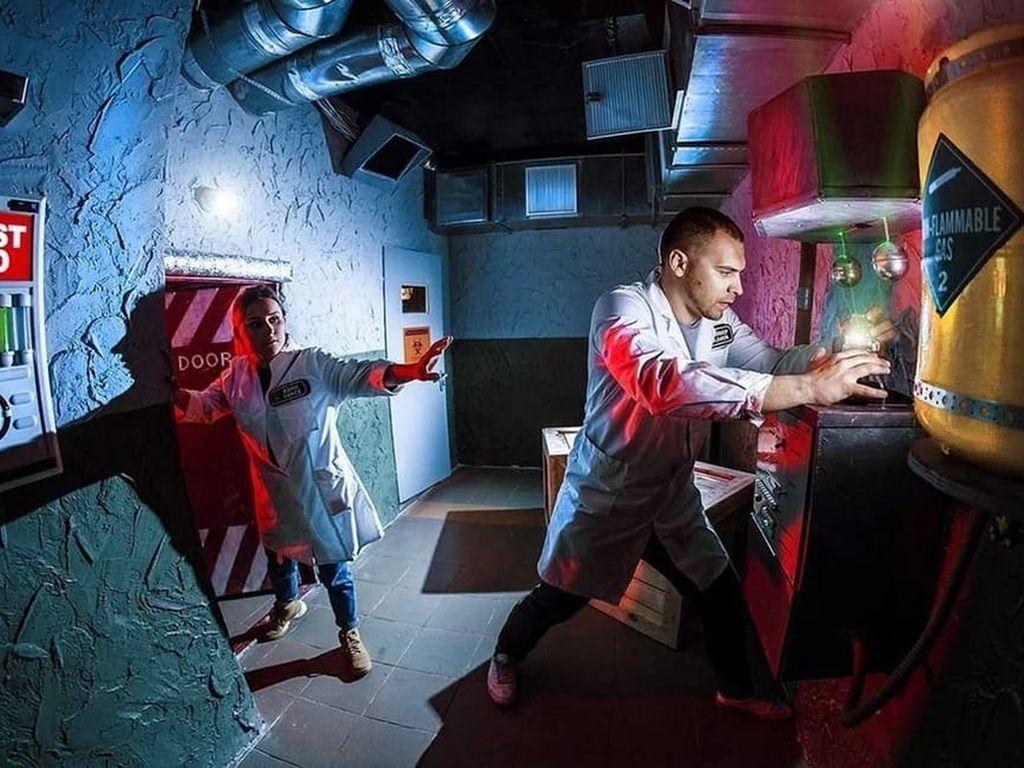 Квест Инопланетная лаборатория Half-Life