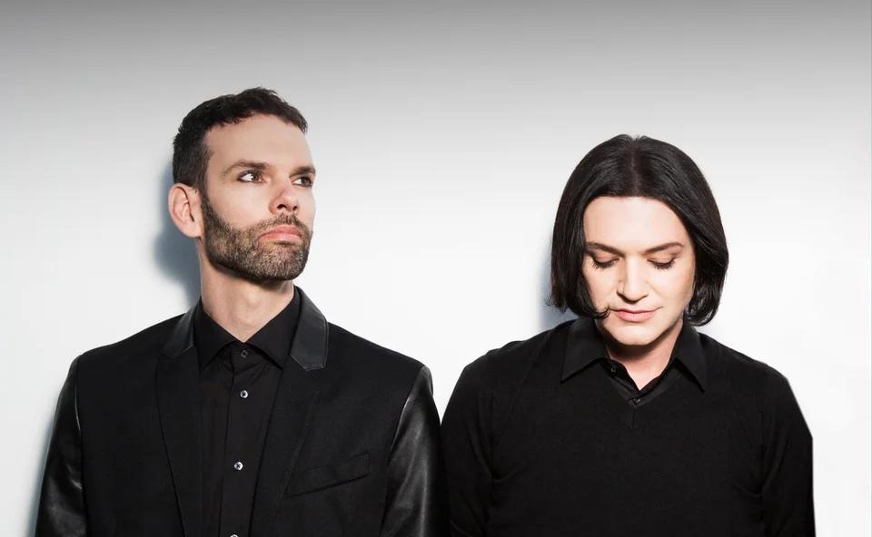 Hок-группf Placebo  в Москве на фестивале