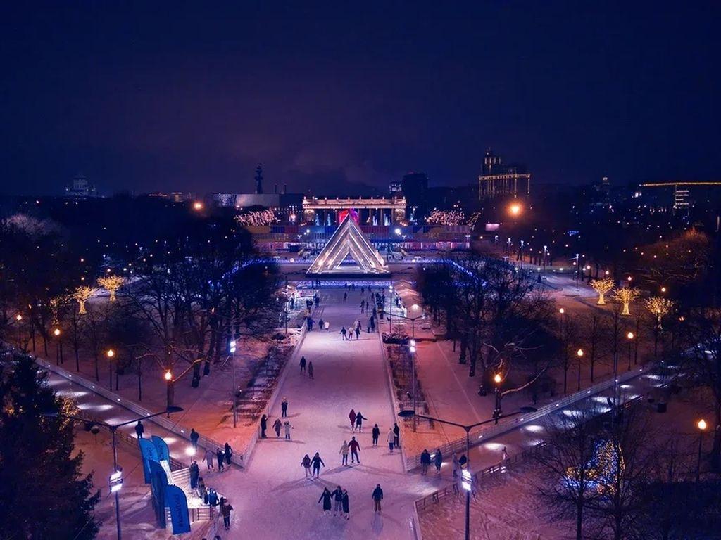 Парк Горького Каток