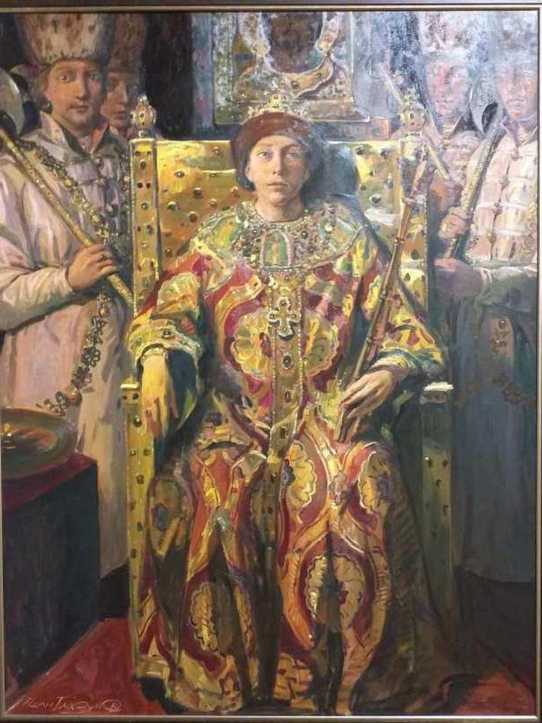 Иван Глазунов Царь Михаил Фёдорович