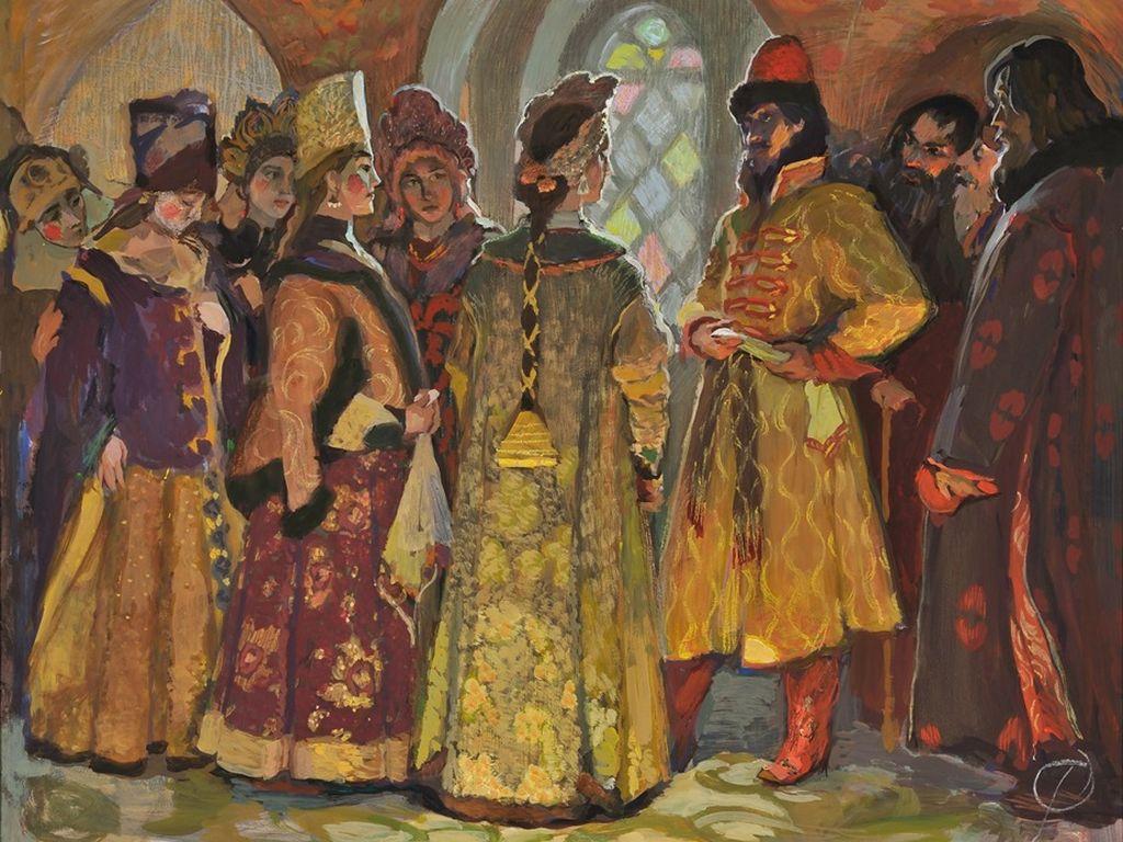 Выставка «Русь боярская»