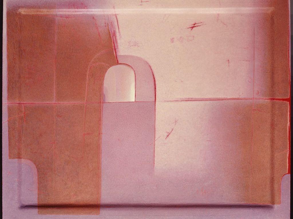 Э.Кабасси. На красном горизонте. 2010