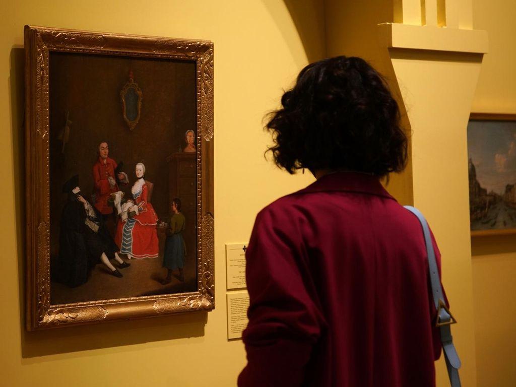 Выставка Под маской Венеции Картины