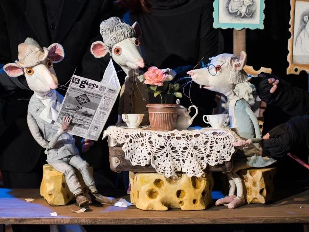 Спектакль в Московском театре кукол