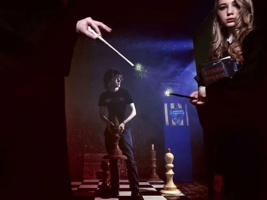 Квест Гарри Поттер: Подземелье Слизерина
