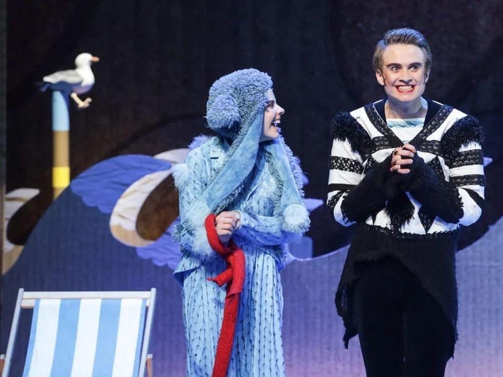Детский спектакль Голубой щенок