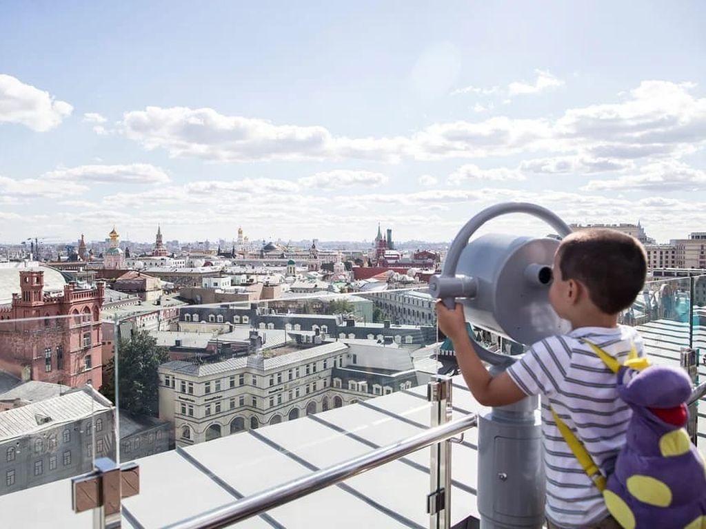 Посещение смотровой площадки ЦДМ и Музей детства