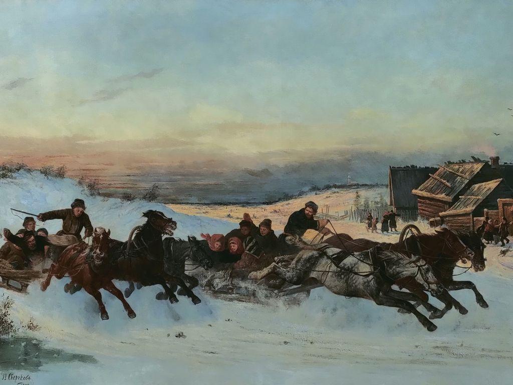 Русская тройка: история, традиции, культура
