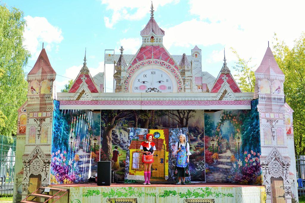Детские спектакли в Измайловском парке