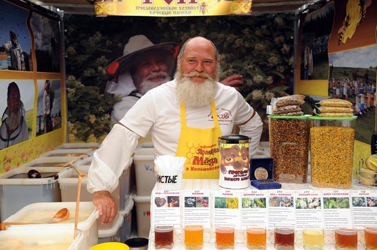 выставка меда в коломенском