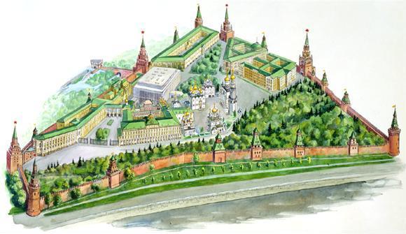 путеводитель по Москве